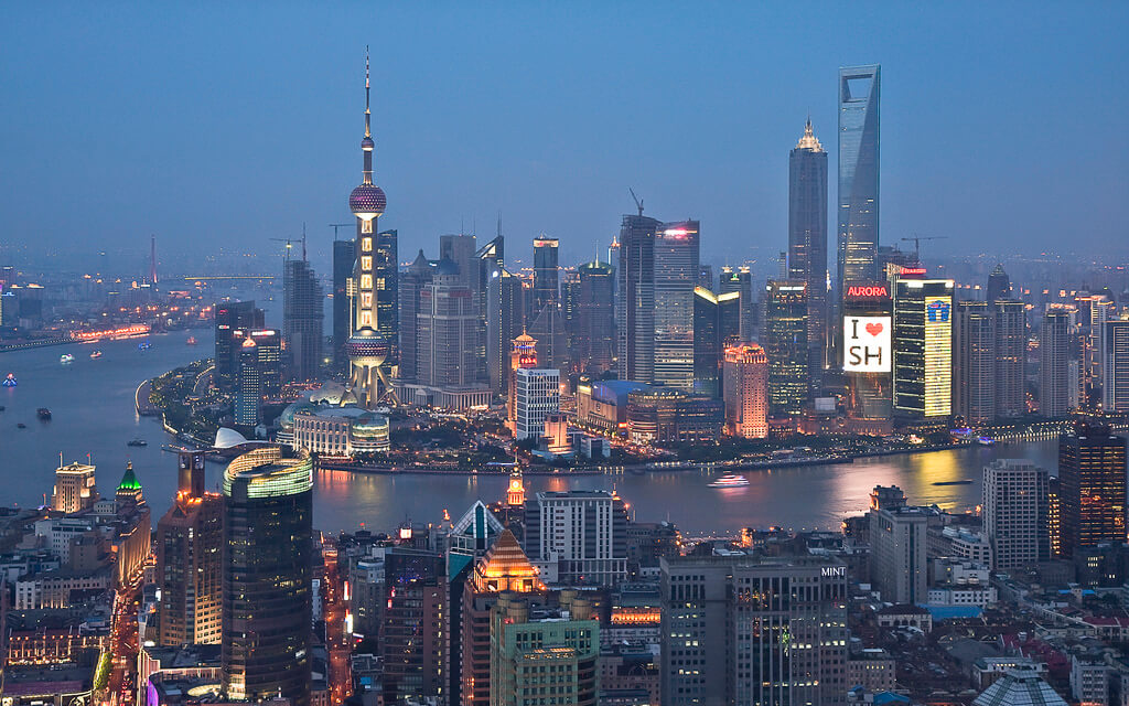 Great view of Shanghai