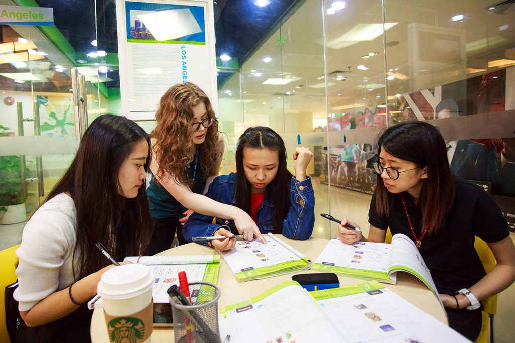 Adult teaching position in China