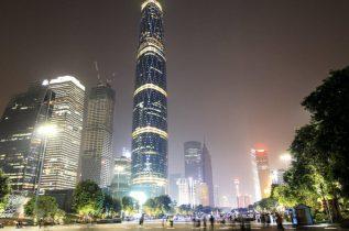 Night time in Guangzhou