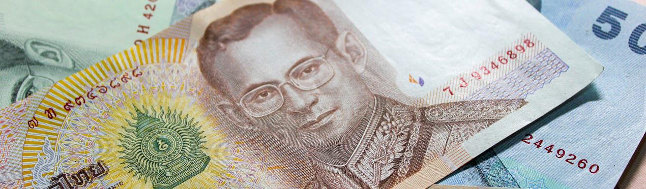 1000 Bahrt note Thailand