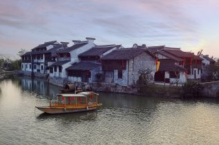 house on the river Jiaxing