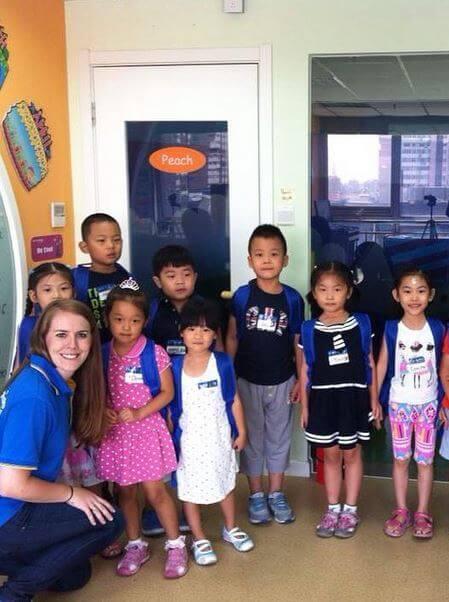 Teaching Children in Beijing