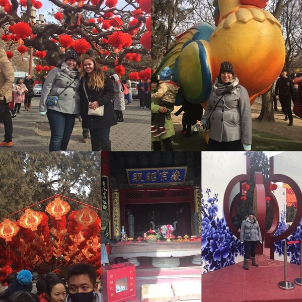 sightseeing in Beijing
