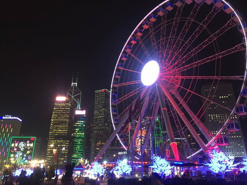 Hong Kong big wheel