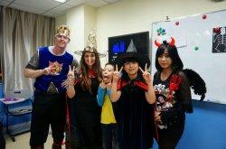 China teaching halloween