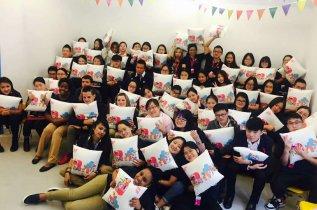 Beijing school children