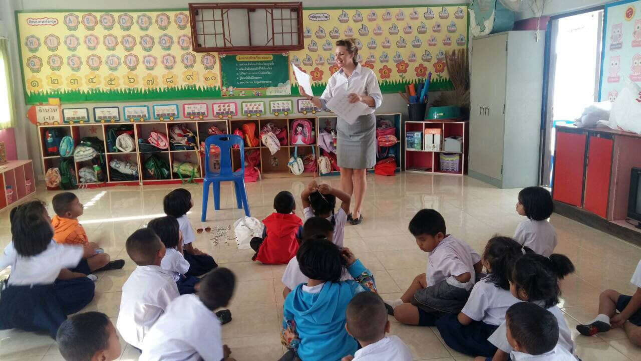 Thai classroom