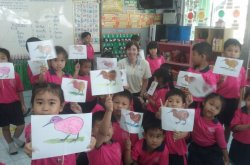 My class in Thailand