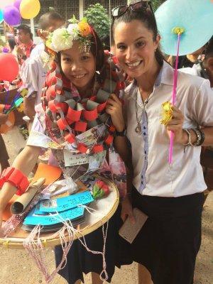 My Thai student graduation