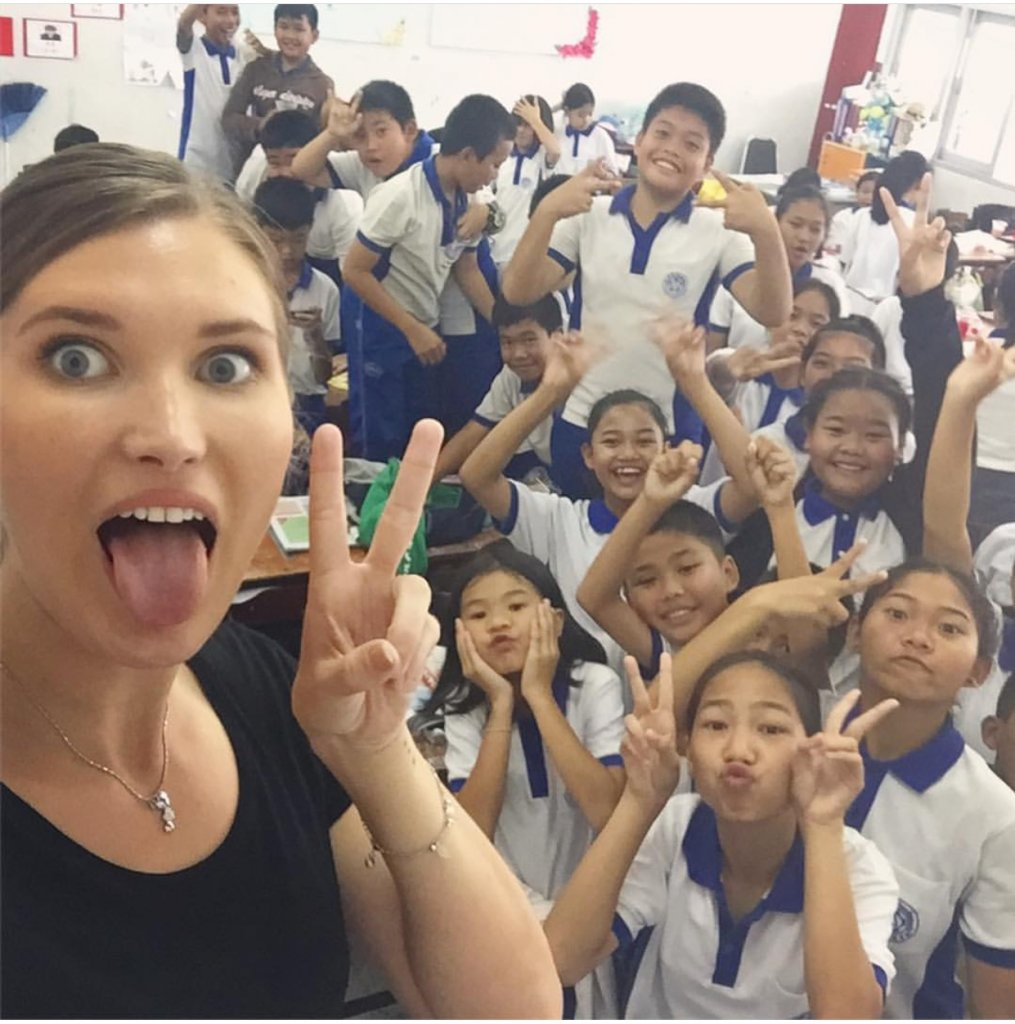 My wonderful students in Thailand