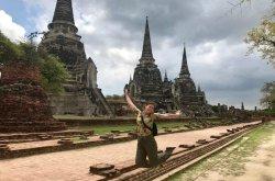 touring in ayutthaya
