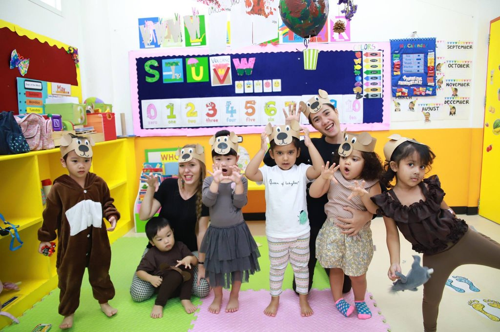 Teach in an International kindergarten in Bangkok