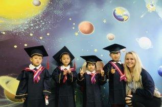 Teach Kids English in Shanghai